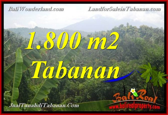 Magnificent 1,800 m2 LAND IN TABANAN FOR SALE TJTB379