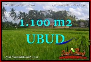 Affordable 1,100 m2 LAND IN UBUD BALI FOR SALE TJUB651