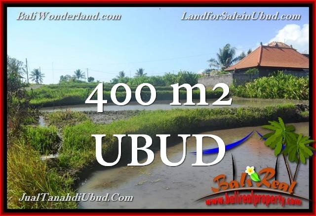 Magnificent PROPERTY 400 m2 LAND SALE IN UBUD TJUB659