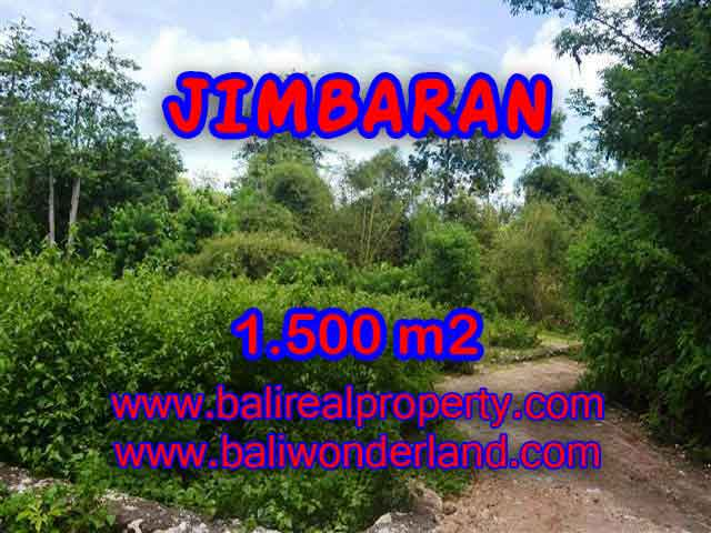 Exotic PROPERTY 1,500 m2 LAND FOR SALE IN JIMBARAN BALI TJJI069