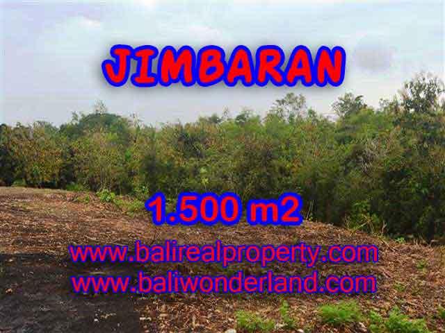 Magnificent PROPERTY 1,500 m2 LAND SALE IN JIMBARAN BALI TJJI076