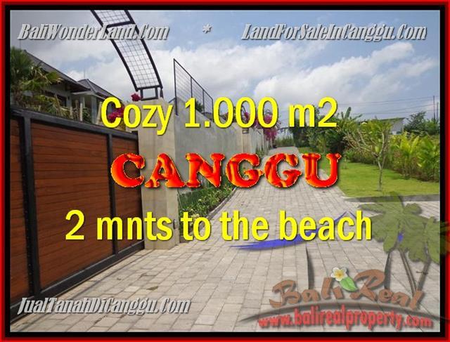 FOR SALE Beautiful LAND IN Canggu Pererenan BALI TJCG161