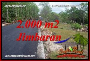 2,000 m2 LAND SALE IN JIMBARAN BALI TJJI133B