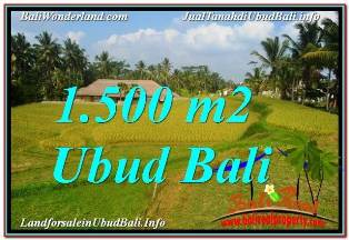 Exotic PROPERTY LAND IN UBUD FOR SALE TJUB668