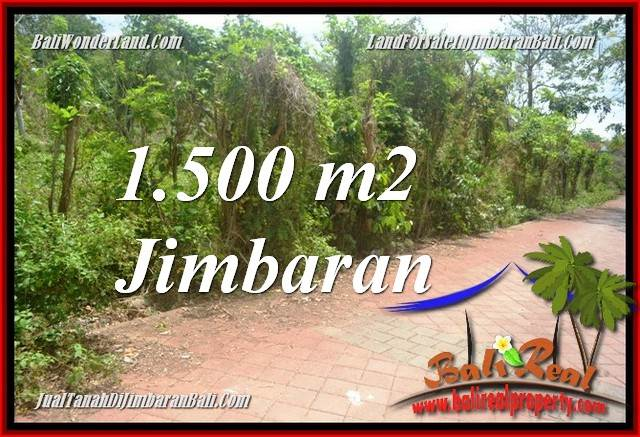 Affordable PROPERTY JIMBARAN 1,500 m2 LAND FOR SALE TJJI128