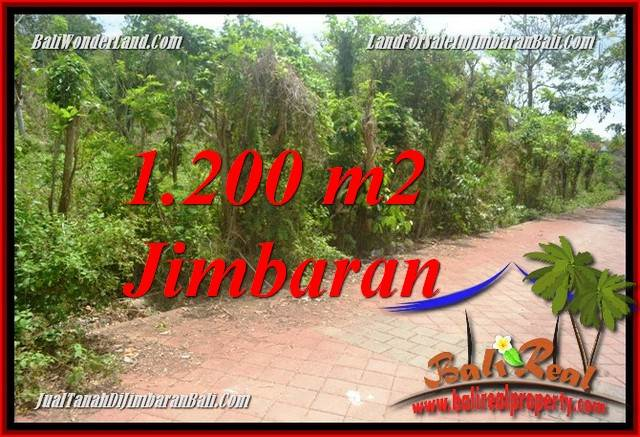 FOR SALE Exotic PROPERTY 1,200 m2 LAND IN JIMBARAN ULUWATU BALI TJJI128A