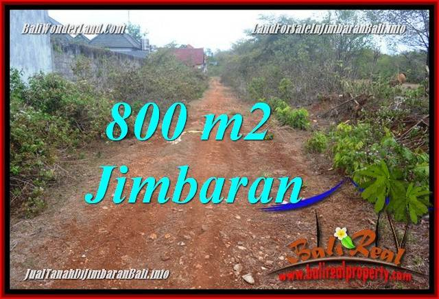 FOR SALE Affordable PROPERTY 800 m2 LAND IN JIMBARAN UNGASAN TJJI129
