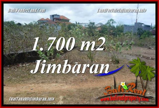 Magnificent JIMBARAN BALI 1,700 m2 LAND FOR SALE TJJI130
