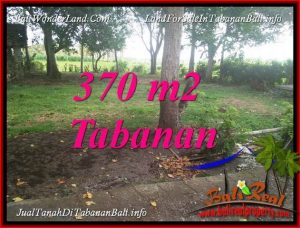 Magnificent 370 m2 LAND IN TABANAN SELEMADEG FOR SALE TJTB383