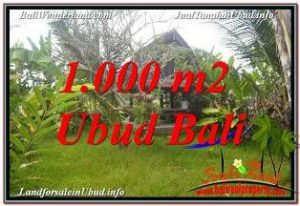 FOR SALE Exotic PROPERTY 1,000 m2 LAND IN SENTRAL UBUD BALI TJUB680