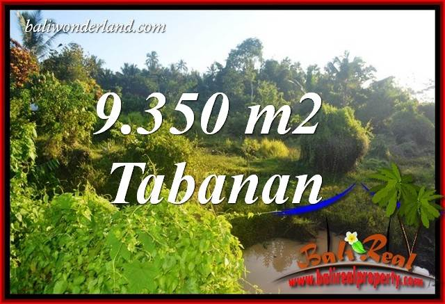 Affordable 9,350 m2 Land sale in Tabanan Bali TJTB409