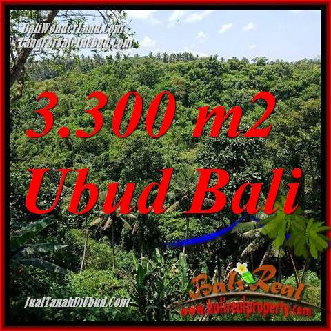 FOR sale 3,300 m2 Land in Ubud Bali TJUB692