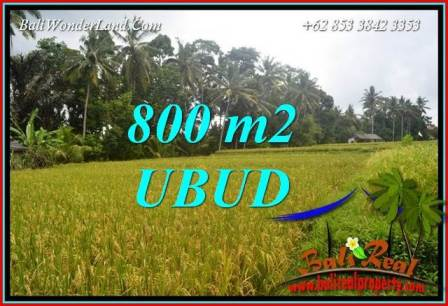 Magnificent Ubud Bali Land for sale TJUB707