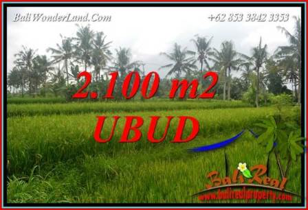 FOR sale Exotic Property Land in Ubud Bali TJUB710