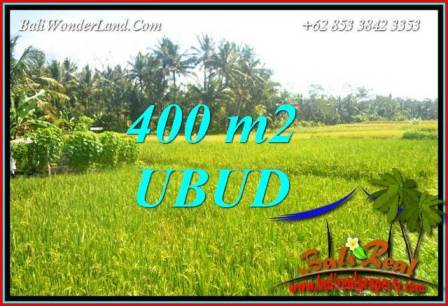 Affordable Ubud Bali 400 m2 Land for sale TJUB711