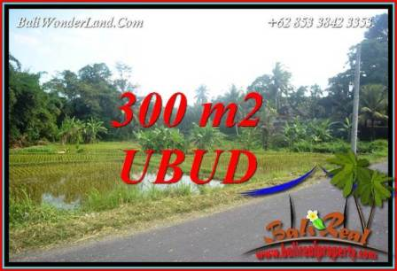 300 m2 Land for sale in Ubud Bali TJUB730