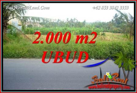 FOR sale Beautiful Property Land in Ubud TJUB737