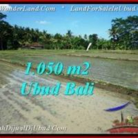 Beautiful LAND FOR SALE IN UBUD TJUB544