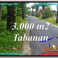 Exotic PROPERTY LAND IN TABANAN FOR SALE TJTB297