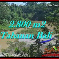 Exotic PROPERTY TABANAN LAND FOR SALE TJTB276
