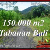 FOR SALE 150,000 m2 LAND IN TABANAN BALI TJTB318