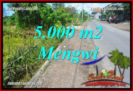 FOR SALE Affordable 5,000 m2 LAND IN Mengwi BALI TJB101