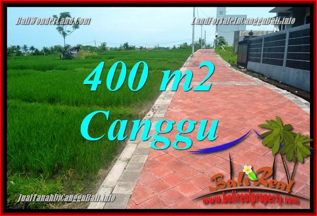 Beautiful CANGGU 400 m2 LAND FOR SALE TJCG219
