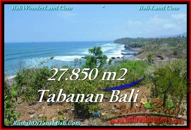 FOR SALE LAND IN Tabanan Selemadeg BALI TJTB229