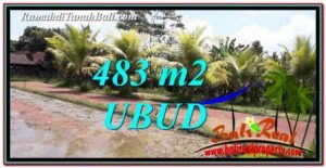Affordable PROPERTY 483 m2 LAND FOR SALE IN Ubud Pejeng TJUB752
