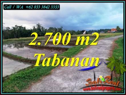 Cheap property LAND IN SELEMADEG TABANAN FOR SALE TJTB460