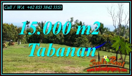 FOR SALE Beautiful PROPERTY 15,000 m2 LAND IN TABANAN TJTB472