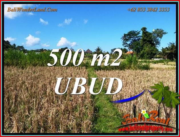 Exotic 500 m2 LAND in Sukawati Gianyar BALI for SALE TJUB810